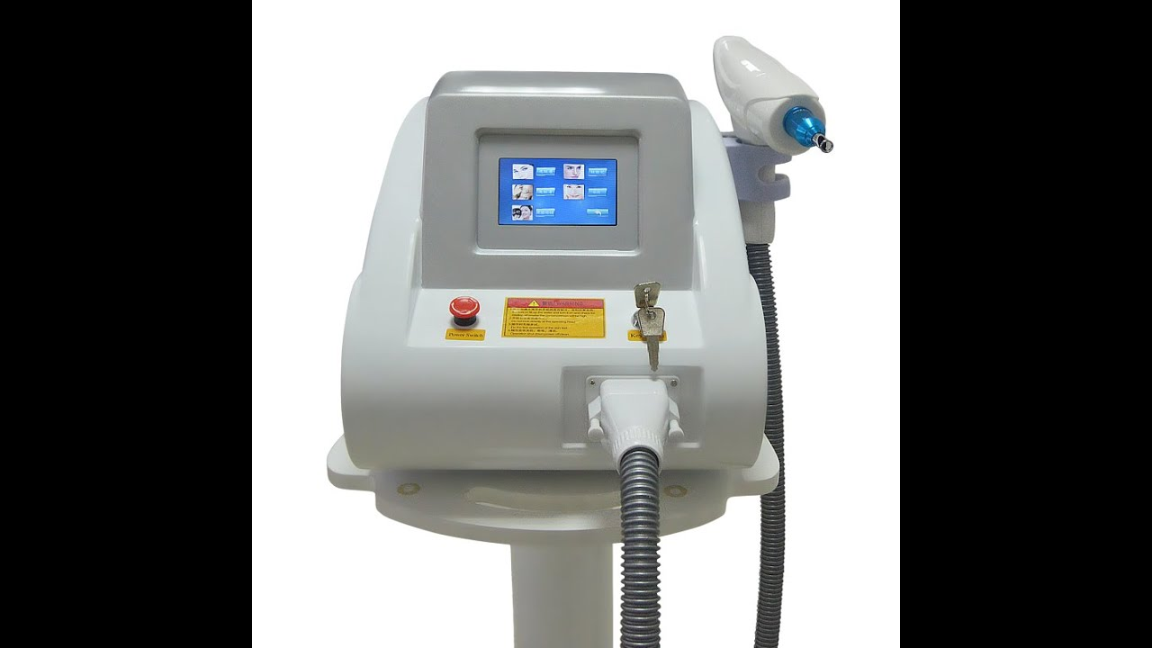1320nm/532nm/1064nm nd yag laser tattoo removal machine with carbon peel (A0506 Magicplus)