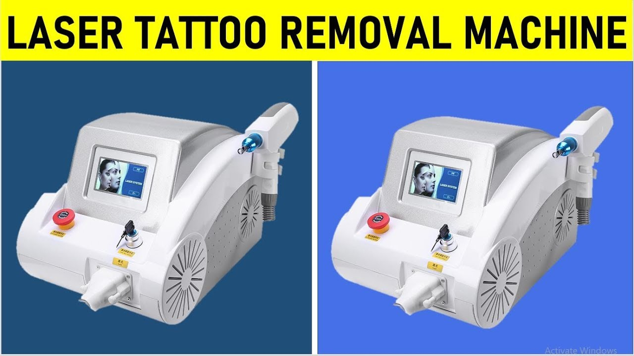 Laser Tattoo Removal Machine – Remove Eyebrow Tattoos –  Removal of Acne Marks