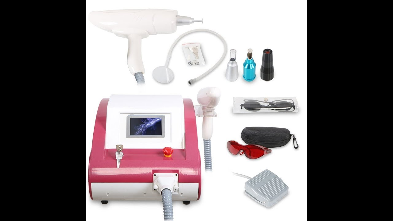 How to Use Laser Tattoo Removal Yag Laser Skin Care Machine MYCHWAY J200