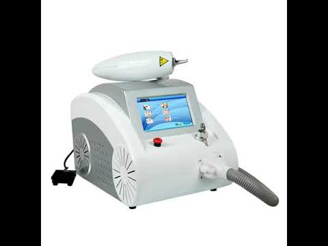 Portable 1064 & 532 nm nd yag laser tattoo removal machine factory price laser tattoo removal machin