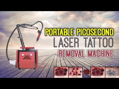 Portable PICOSECOND LASER Tattoo Removal Machine RED