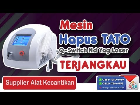 Mesin Hapus Tato Q Switch Nd Yag Laser TERBAIK – PT Raditya Sume Indonesia