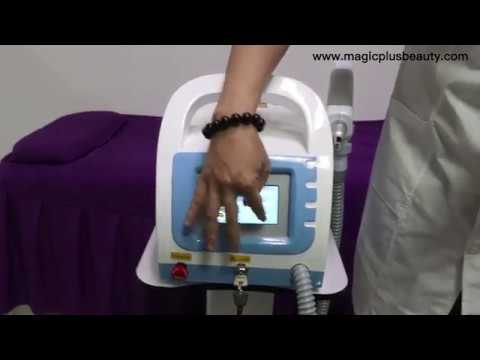 Nd yag laser tattoo removal machine with carbon peel A0507