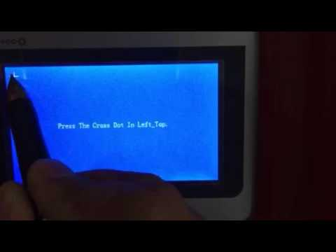 How to calibrate the screen for Nd yag laser tattoo removal machine