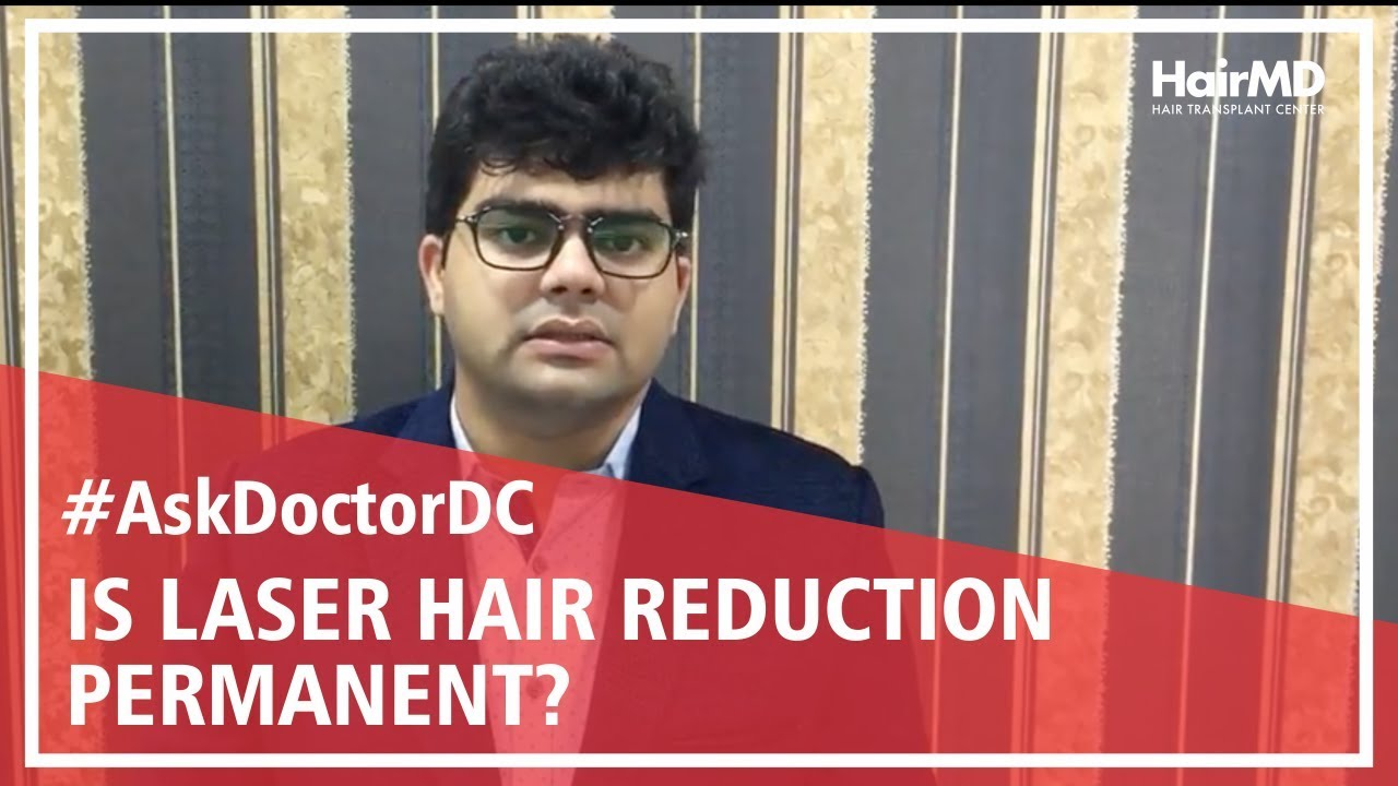 Is laser hair removal permanent | HairMD, Pune