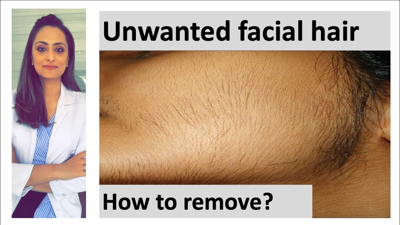 How to remove facial hair | unwanted facial hair | causes|treatment|Dermatologist| Dr. Aanchal Panth