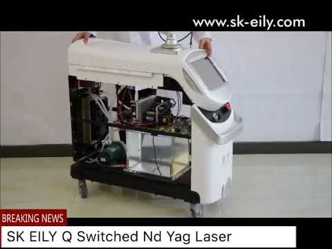 Q Switched ND YAG Laser Tattoo Removal Machine(sk-eily.com)