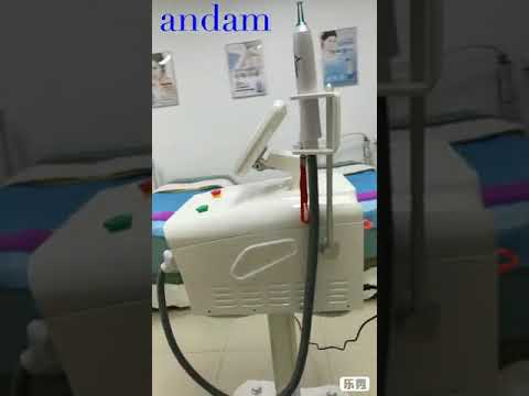 Q Switched ND Yag Laser Tattoo Removal Machine Skin Tighten Pigment Removal