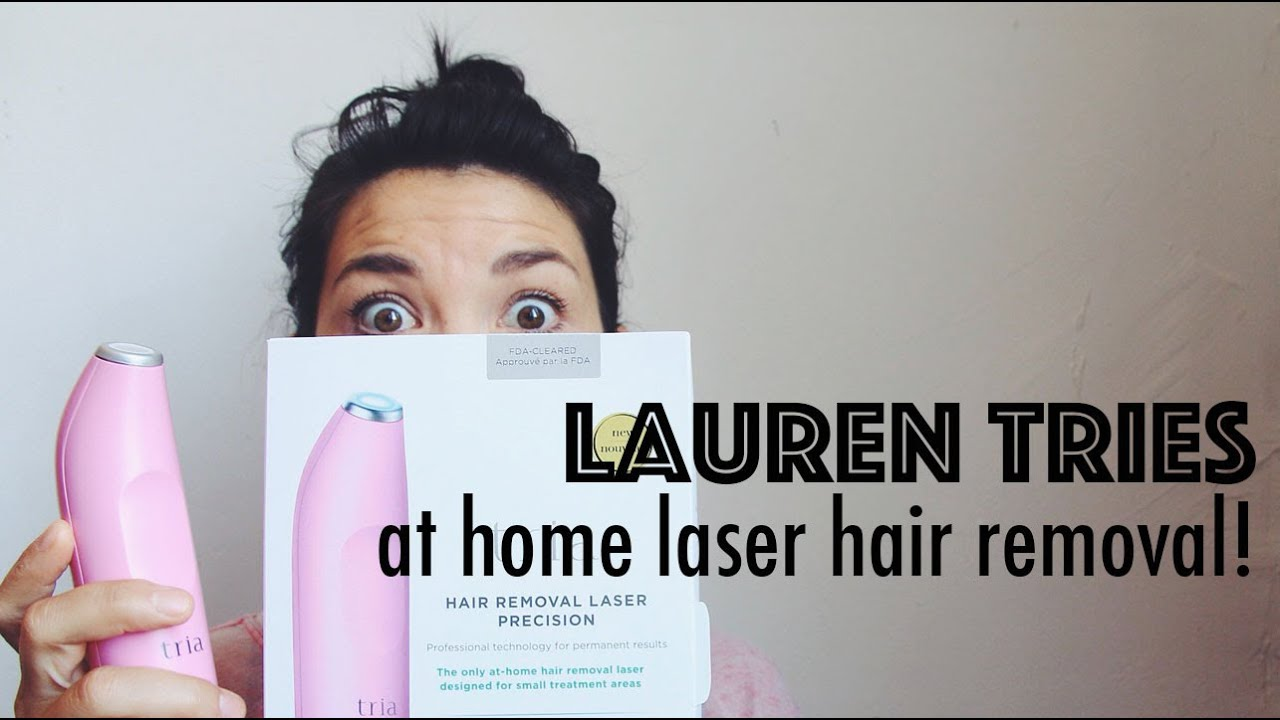 LAUREN TRIES: AT HOME LASER HAIR REMOVAL!