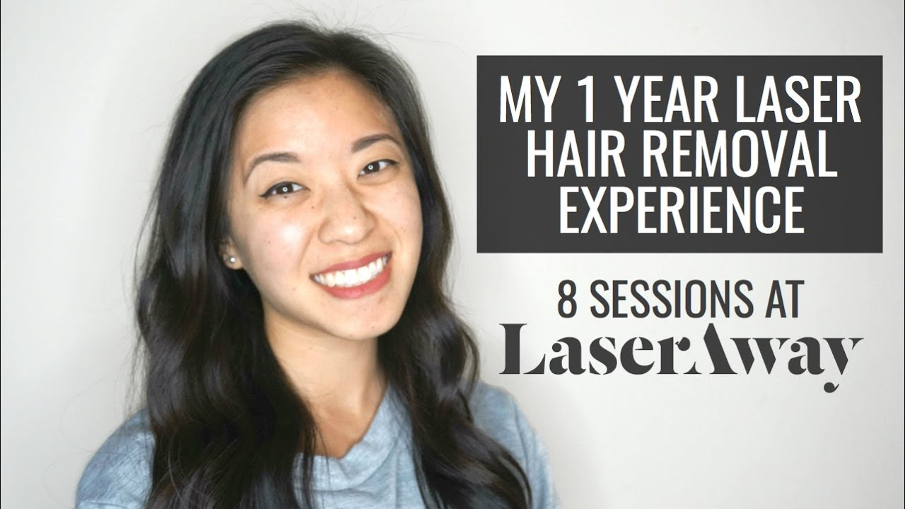 MY 1 YEAR LASER HAIR REMOVAL EXPERIENCE | 8 SESSIONS AT @LASERAWAY | AMANDAMLIM