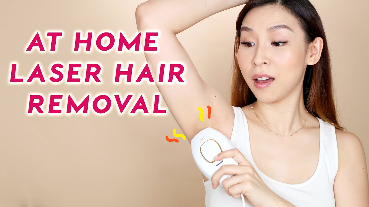 At-Home Laser Hair Removal – Does It Work? 🤔   TINA TRIES IT
