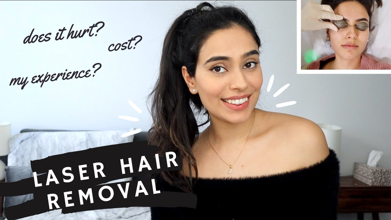 THE TRUTH WITH LASER HAIR REMOVAL | FACE & FULL BODY | COST? IS IT PAINFUL? SIDE EFFECTS? | bySanjna