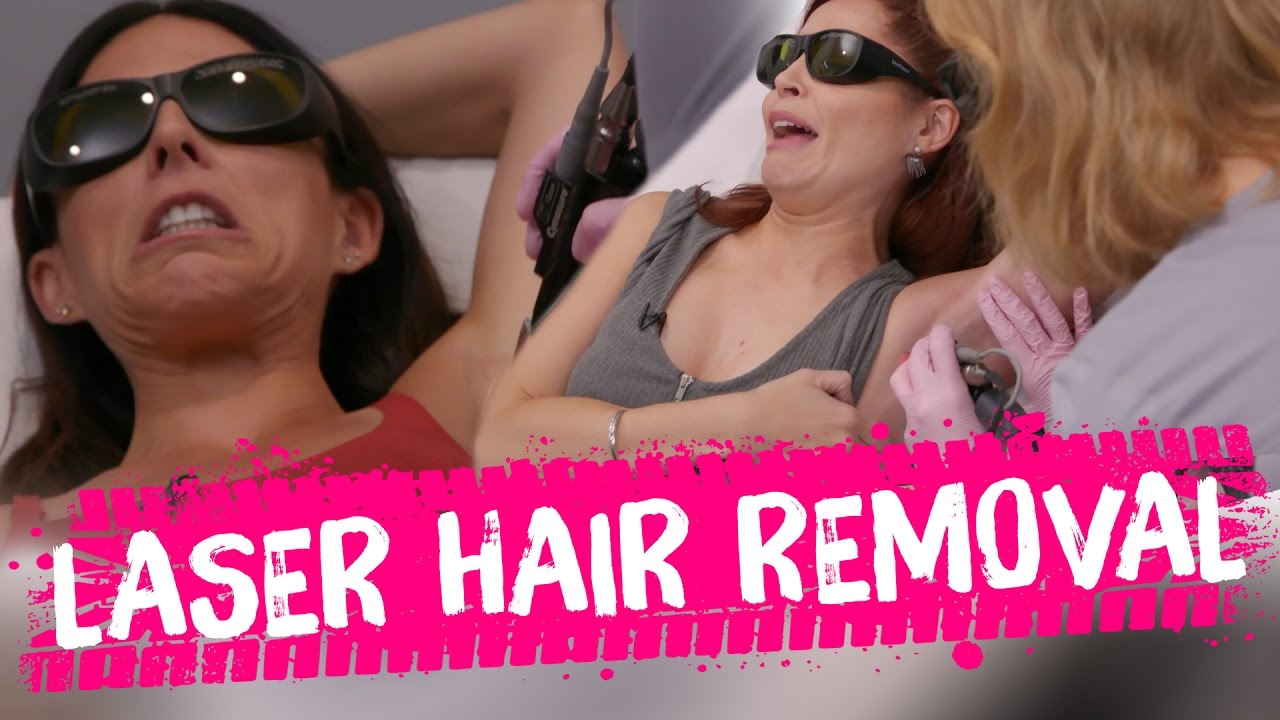 Laser Hair Removal?! (Beauty Trippin)
