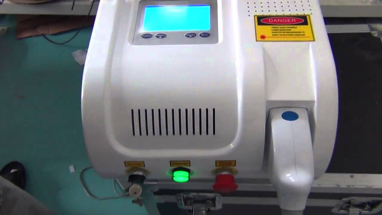 Special discount on ND YAG LASER tattoo 1064&532 removal machine