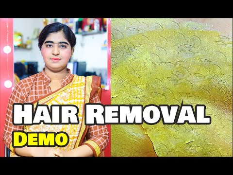 How To Remove Facial Hair INSTANTLY – 100% Natural | NATURAL HAIR REMOVAL AT HOME WITH DEMONSTRATION