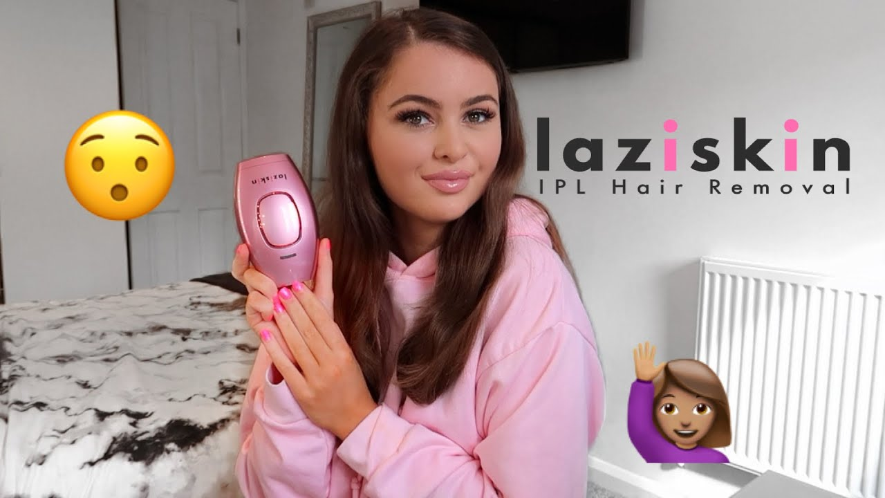 TESTING LAZISKIN HAIR REMOVAL DEVICE | PAIN FREE?!!!