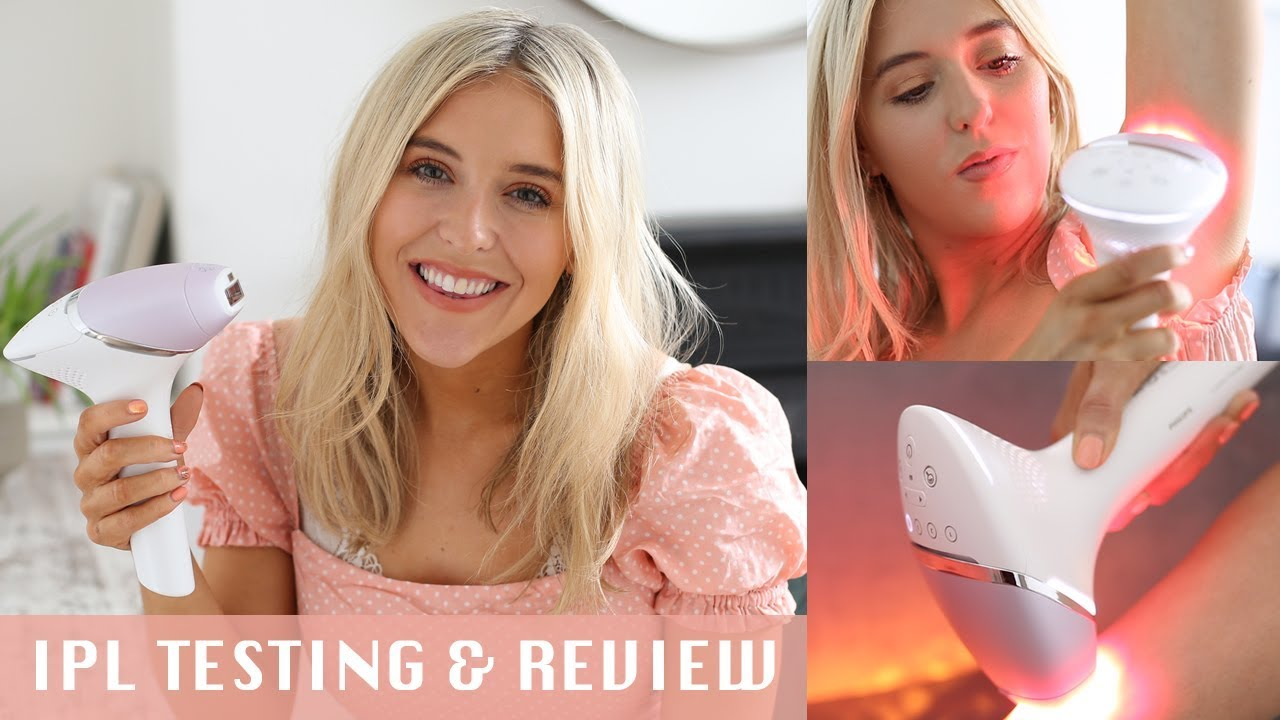 TRYING IPL HAIR REMOVAL AT HOME | NEW Philips Lumea Prestige IPL Review AD