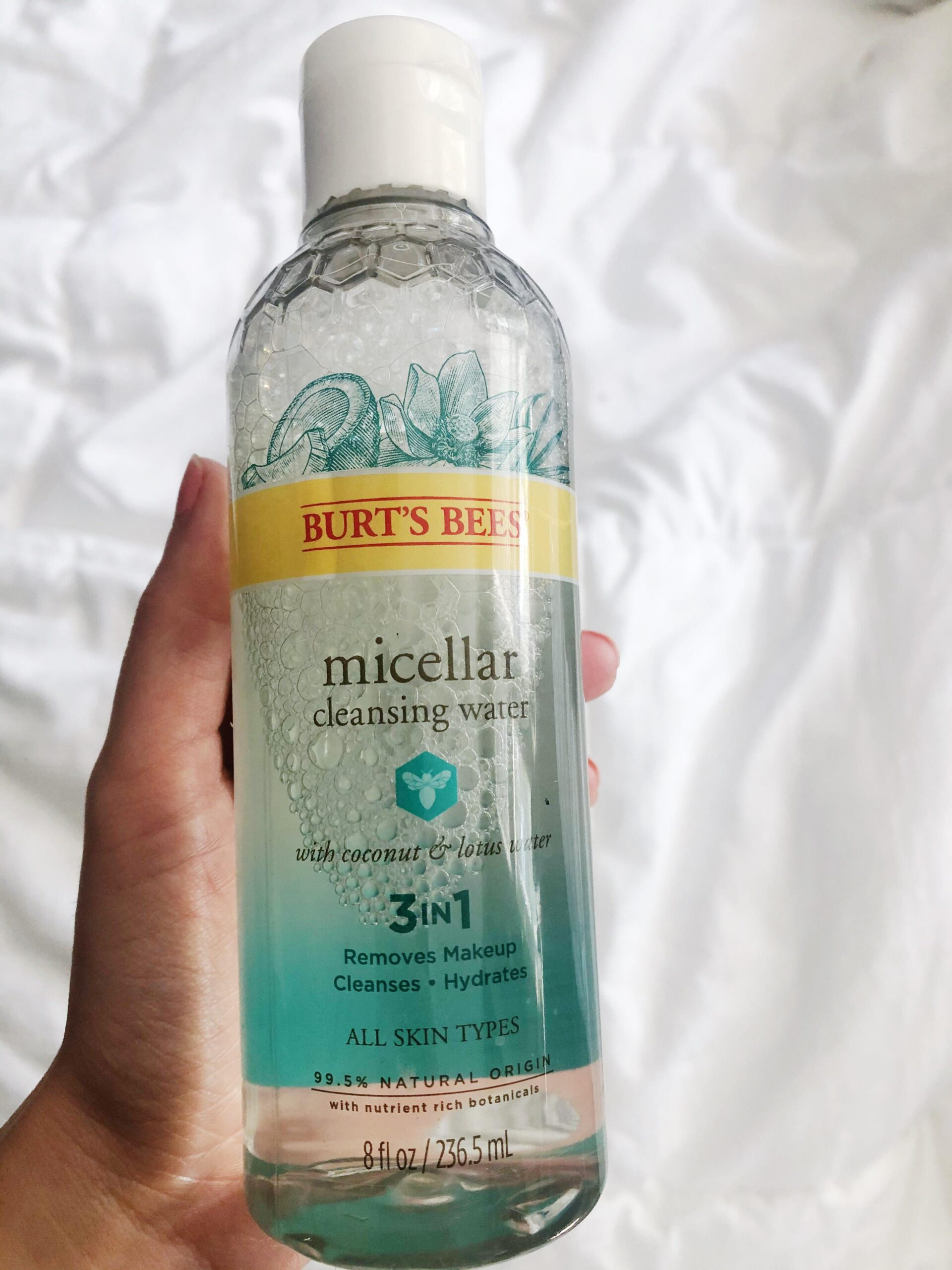 [Product question] I've switched over to using Micellar water occasionally and was wondering if you have any opinions on Burts Bees. It seems a little irritating to the skin but Im wondering if that's just a ~me~ thing or if others have experimented with this and thought the same. Thanks!
