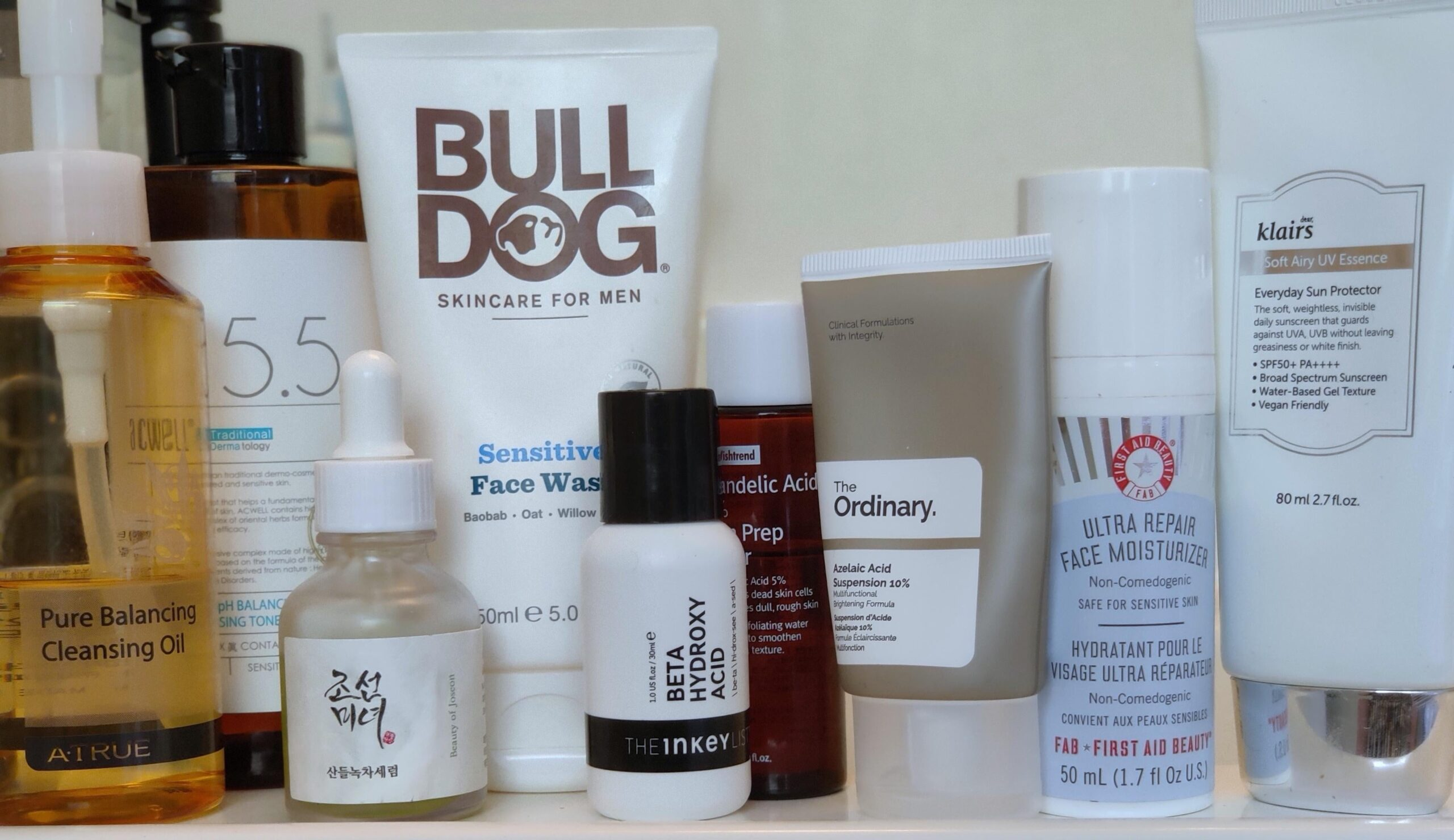 [Shelfie] Still finding out what works best with my skin, but this has been a good start!