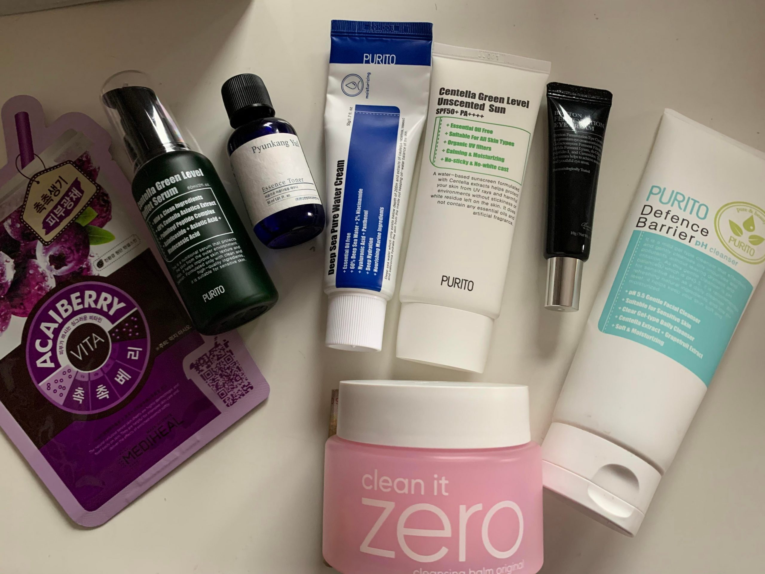 [haul] my skincare routine for this week